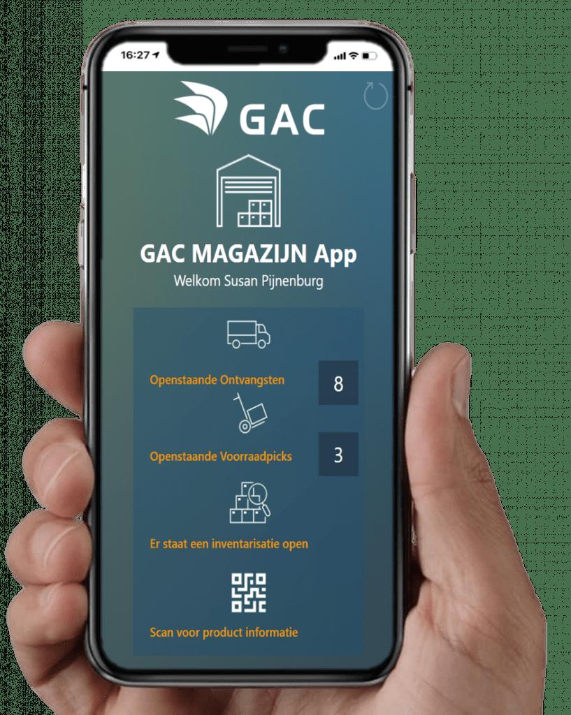 Power App Magazijn Scanning