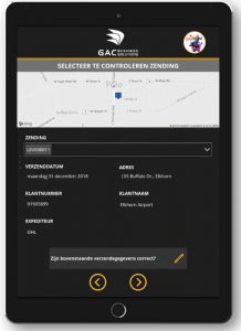 Power App Uitgangscontrole