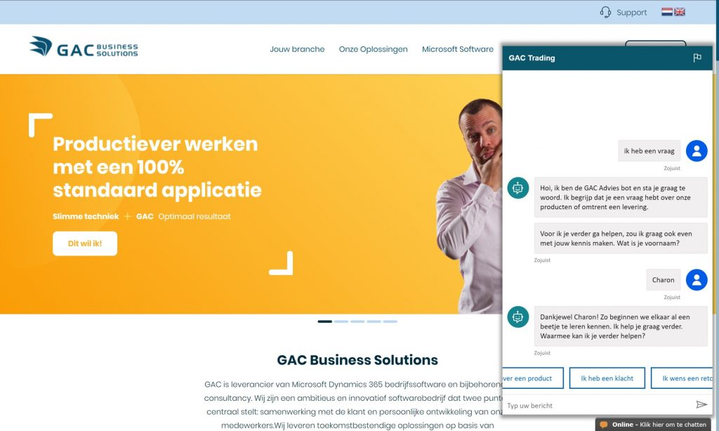 Power Virtual Agents GAC
