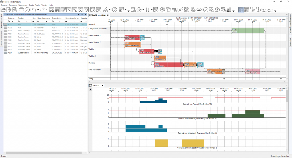 Siemens Opcenter Productieplanning